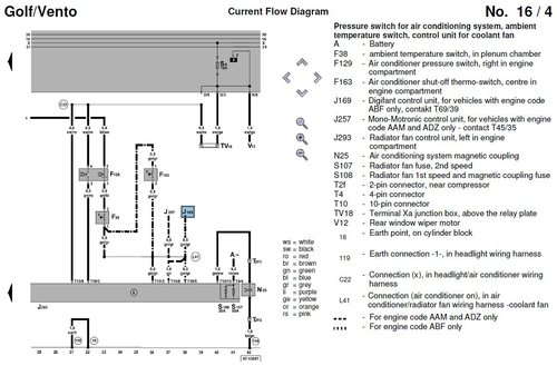 wiring diagram for golf 1